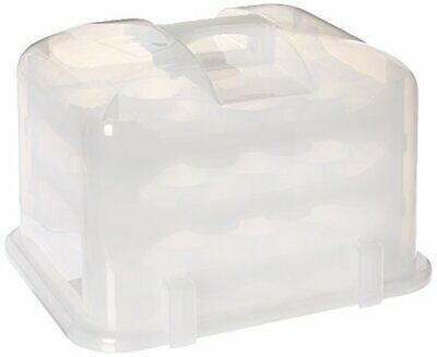 Cupcake Courier G0214B Cupcake Carrier- White Translucent, • 67.15£