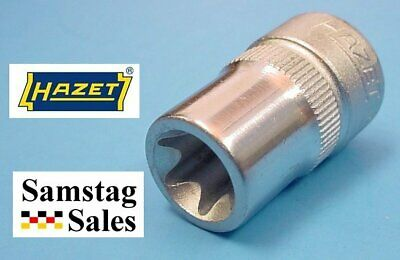$19.04 • Buy HAZET 880-E12 Socket, 3/8  Drive, 6 Point, 28mm Long, Torx Size 11.17mm