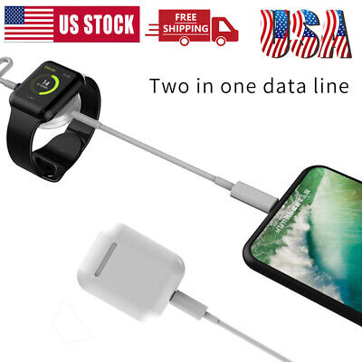 $ CDN12.73 • Buy New For Apple Watch IWatch Magnetic Charging Cable Charger Series 5/4/3/2/1 USA
