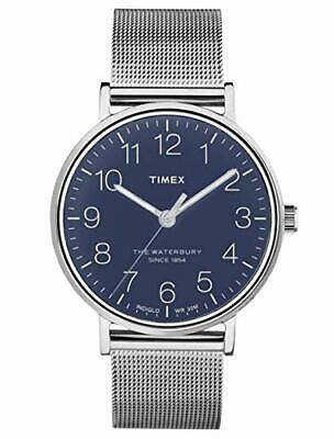 $69.99 • Buy Timex Waterbury Quartz Movement Blue Dial Men's Watch TW2R25900