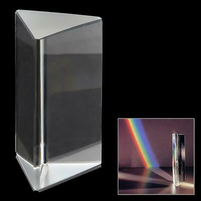 $5.94 • Buy Triangular Color Prism K9 Optical Glass Right Angle Reflecting Triangular Prism