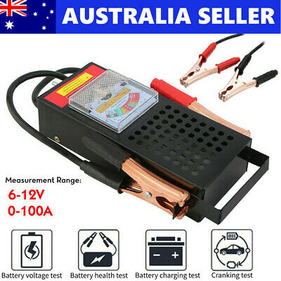 AU31.99 • Buy Battery Load Tester 6V 12V Volt 100AMP Truck Boat Bike Vehicle Diagnostic Tools
