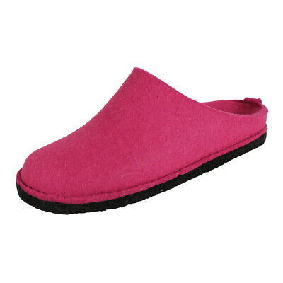 Haflinger Women's House Shoes Flair Soft Slippers Felt Slippers Fuchsia (Pink) • 34.80£
