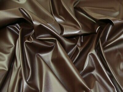 Stretch Faux Leather Fabric - Sold Per Metre • 9.99£