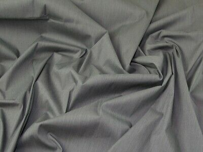 Cotton Viscose Shirting Fabric - Sold Per Metre • 10.99£