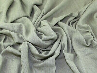 Slub Cotton Gauze Fabric - Sold Per Metre • 8.99£
