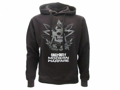 £56.57 • Buy Sweatshirt Call Of Duty Modern Warfare Original Official Black Hood Skull