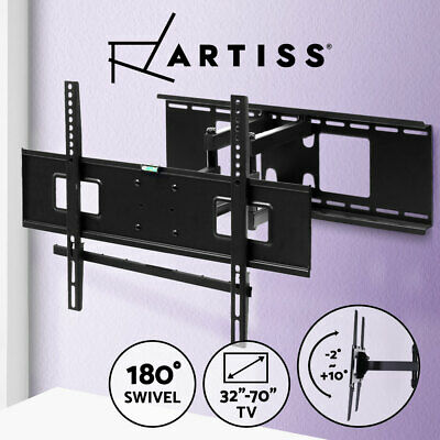 AU39.90 • Buy TV Wall Mount Bracket Full Motion Tilt Swivel Pivot 32 40 43 50 55 60 65 70 Inch