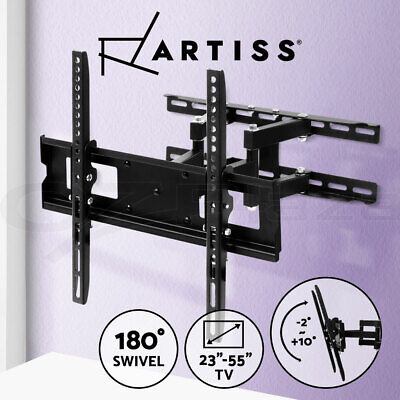 AU34.95 • Buy Artiss TV Mount Wall Bracket Tilt Swivel Flat Slim LED LCD 23 32 42 50 55 Inch