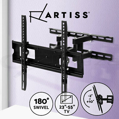 AU48.95 • Buy Artiss TV Wall Mount Bracket Tilt Swivel Flat Slim LED LCD 23 32 42 50 55 Inch