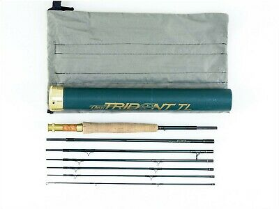 $300 • Buy 8 1/2' Orvis Trident TL 7Pc 1T 5WT 1 Tip Graphite Travel Fly Fishing Rod W Case