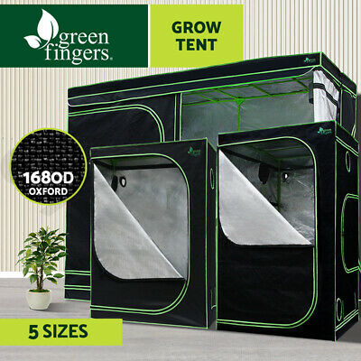 AU134.90 • Buy Greenfingers Grow Tent Kits Real 1680D Oxford Hydroponic Indoor Grow System
