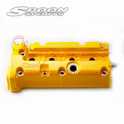 AU624.37 • Buy SPOON SPORTS Yellow Engine Head Cover For CIVIC TYPE R EP3 K20A 12310-DC5-000