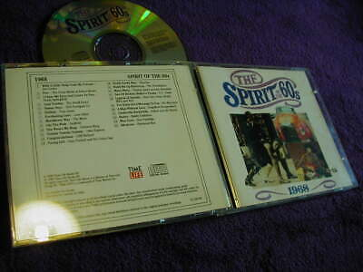 THE SPIRIT OF THE 60s ,1968, TIME LIFE ,CD VARIOUS ARTISTS • 7.99£