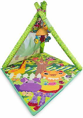 Tomy Lamaze 4 In 1 Teepee New Baby Play Gym Animal Activity Playmat 0 6+ Months • 49.99£