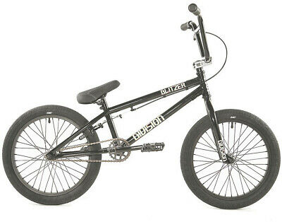 AU299.99 • Buy Division Blitzer 19.25  TT Complete BMX Bike Black/Polished