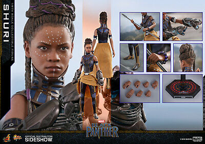 $259.99 • Buy Hot Toys Shuri 1/6 Scale Figure Letitia Wright Black Panther Movie MMS501 Marvel