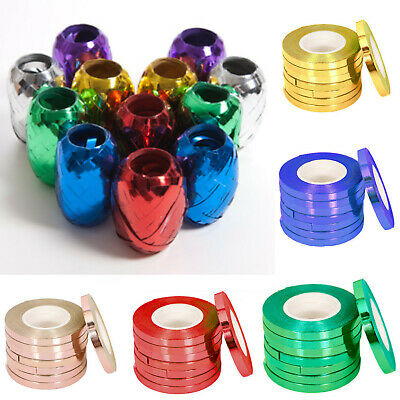 $2.67 • Buy 100 Meters Long And 5mm Wide Balloon Curling Ribbon Party Wrapping Baloon Ribon