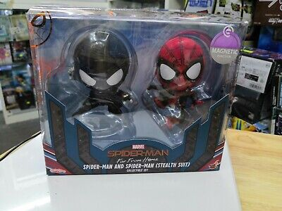 $ CDN40.33 • Buy Hot Toys Cosbaby(s) 634 Spiderman And Spiderman (Stealth Suit) Far From Home