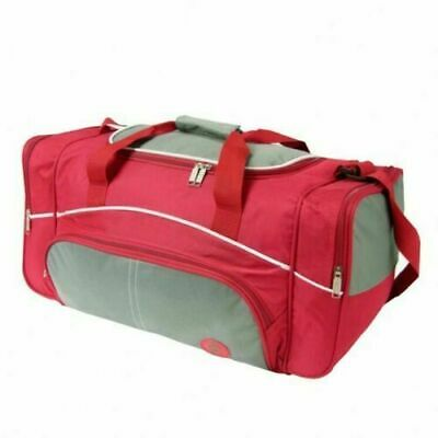 22  Holdall Luggage Weekend Duffel Cabin Travel Sports Gym Bag Case Pink • 12.99£