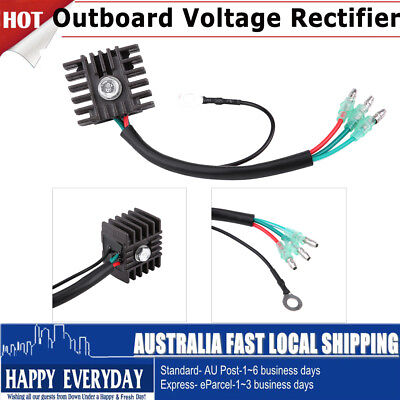 AU23.91 • Buy Voltage Regulator Rectifier Replacement 4hp-70hp 2 Stroke Outboard For Yamaha AU