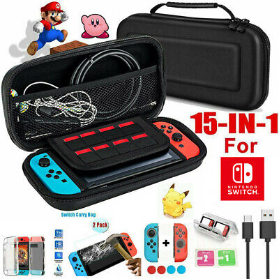 For Nintendo Switch Travel Carrying Case Bag Screen Protector Cover Accessories • 19.79$
