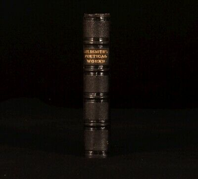 C1880 The Poems And Plays Of Oliver Goldsmith Lansdowne Poets Illustrated • 83.99£