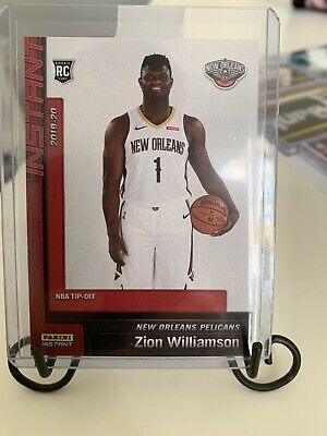 $12.50 • Buy Zion Williamson - Rookie Card - NBA Tip-Off #13 - 2019-20 Panini Instant RC