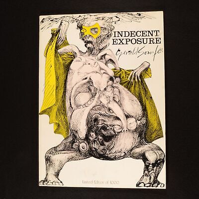 £208 • Buy 1973 Indecent Exposure Gerald Scarfe First Edition Limited Edition