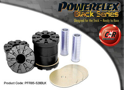 AU178.16 • Buy VW Passat B6 & B7 06-13 Powerflex Black Rr Subframe Rr Mount Bushes PFR85-528BLK