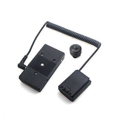 AU54.10 • Buy NP-FZ100 Dummy Battery W/F970 Battery Adapter Mount Plate Spring Cord FOR DSLR