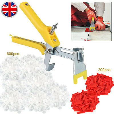 801Pcs/Set Floor Wall Tile Leveling Spacer System Tool Wedges Pliers Tiling Kit • 16.03£