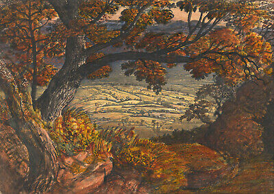 Samuel Palmer: The Weald Of Kent. Fine Art Print/Poster • 17.95£