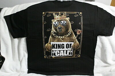 $11.65 • Buy King Of Cali Bear Crown California T-shirt