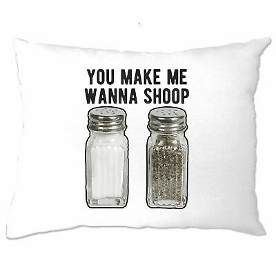 £4.99 • Buy Hip Hop Pillow Case Salt And Pepper Shakers You Make Me Want To Shoop