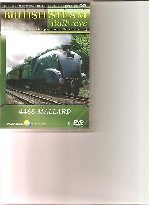 British Steam Railways (No.1) Mallard DVD • 2.49£