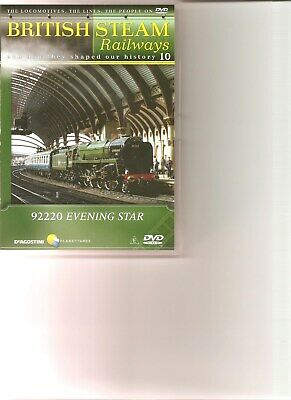 British Steam Railways (No.10) Evening Star DVD • 5.99£