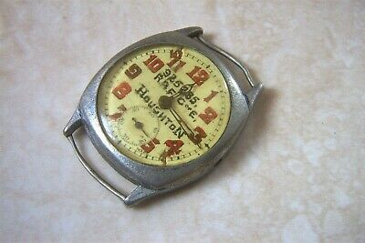 A MANUAL WIND WATCH WITH RAF SIGNED DIAL WATCH C.1920'S NEEDS A SERVICE • 50£