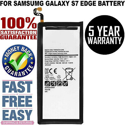 $ CDN10.49 • Buy For Samsung Galaxy S7 Edge Replacement Battery + Free Tools + Free Shipping