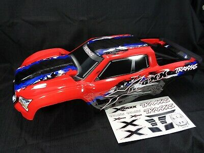 AU180.38 • Buy Traxxas X-Maxx 8s Red Blue Black Painted Body Shell Internal Mounts Supports