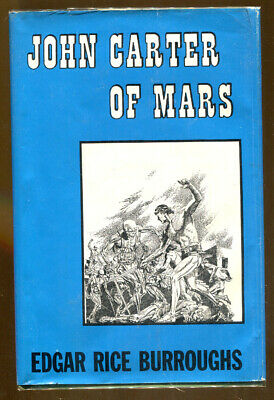 John Carter Of Mars By Edgar Rice Burroughs-Canaveral Press 1st Ed./DJ-1964 • 100$
