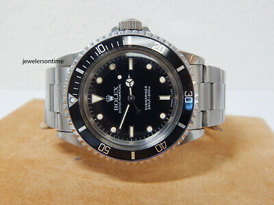 $ CDN14249.06 • Buy 1989 Vintage Rolex Non Date SS Submariner 5513 Warranty  L  Series