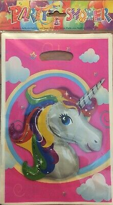 AU3.75 • Buy 10 Pretty Unicorn Party Gift Bags Candy Favour Bag Loot Bags For Birthday
