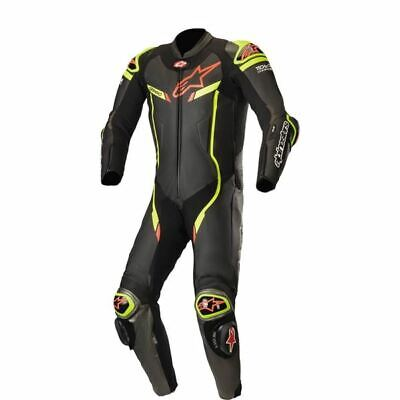 $1299.95 • Buy Alpinestars GP Pro V2  1-PC Leather Motorcycle Suit - Blk/Flo Ylw/Red, All Sizes
