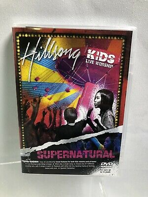 $15 • Buy DVD SUPERNATURAL By Hillsong Kids (DVD, 2007) Christian Live Worship A-8