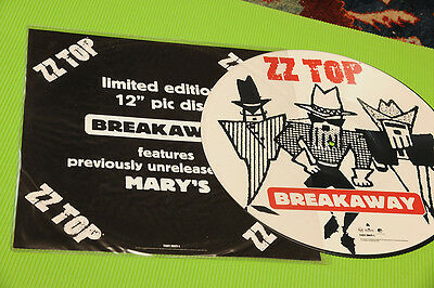 Zz Top LP 12   Picture Disc Breakaway NM Orig Limited Edition 1994 • 18.98£