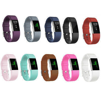 $ CDN4.36 • Buy Replacement Silicone Rubber Band Strap Wristband Bracelet For Fitbit CHARGE2 Hot
