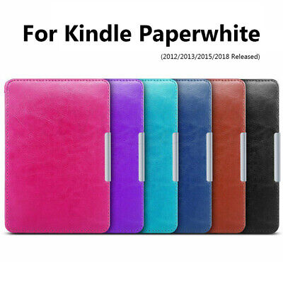 Ultra Slim Shockproof Leather Case Covers For Amazon Kindle Paperwhite 1/2/3/4 • 6.80£