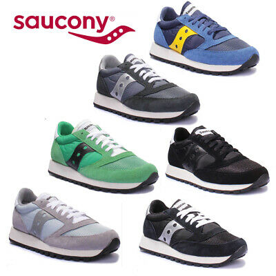 Saucony Jazz Original Mens Black And White Miscellaneous Trainers UK Size 6 - 12 • 45.03£