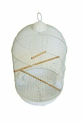 $55.18 • Buy YML A1564 Bar Spacing Round Bird Cage, White, Small